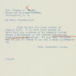 Letter : 1942 August 24