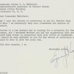 Letter : 1950 June 15