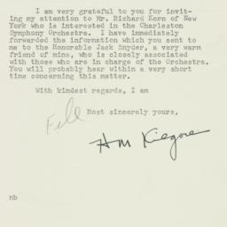 Letter : 1954 April 12