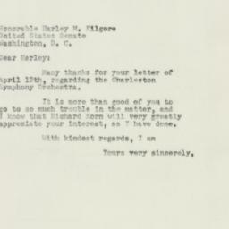 Letter : 1954 April 20