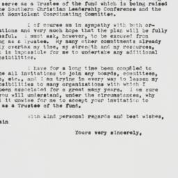 Letter : 1961 March 31