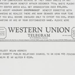 Letter : 1962 October 7