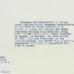 Note : 1941 June 10