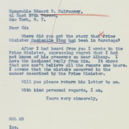 Letter : 1942 October 31