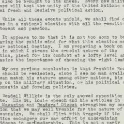 Letter : 1943 November 18