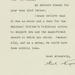 Letter : 1946 November 21