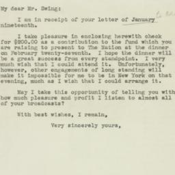 Letter : 1944 January 25