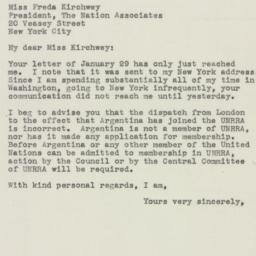 Letter : 1946 February 15