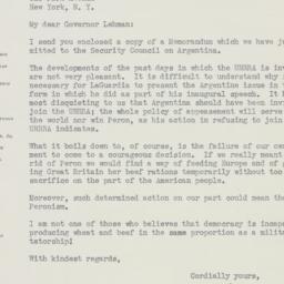 Letter : 1946 April 2