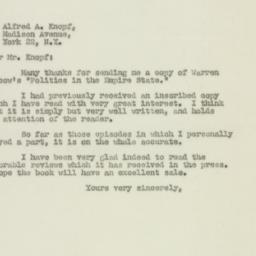 Letter : 1948 August 26