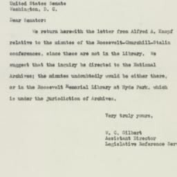 Letter : 1949 December 8