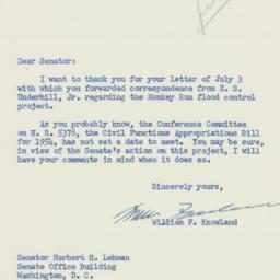 Letter : 1953 July 14