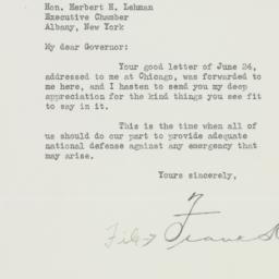 Letter : 1940 June 28