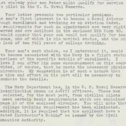 Letter : 1941 March 29