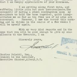 Letter : 1935 December 6