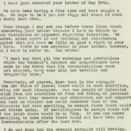 Letter : 1948 June 5