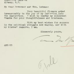 Letter : 1934 January 10