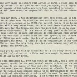 Letter : 1946 April 3
