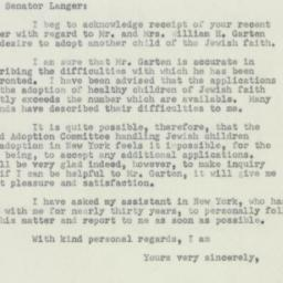 Letter : 1951 March 30