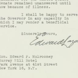 Letter : 1946 October 21