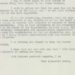 Letter : 1950 December 14