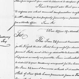 Document, 1798 March 19