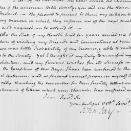 Document, 1817 April 22