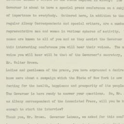 Press Release: 1935 July 23