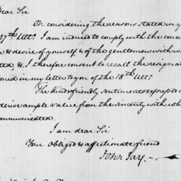 Document, 1826 April 01