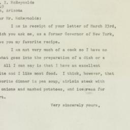 Ephemera : 1948 April 5
