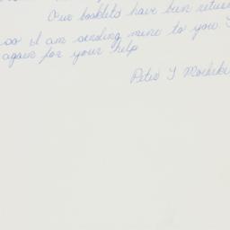 Manuscript: 1962 February 20