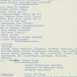 Manuscript: 1965 February 8