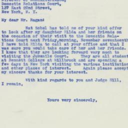 Ephemera: 1939 November 15