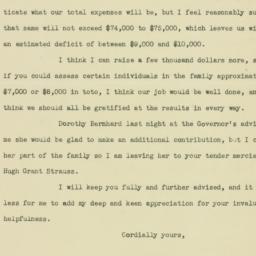 Letter: 1936 November 4