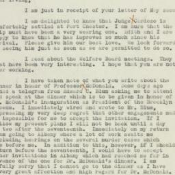 Letter: 1938 May 5