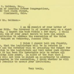 Letter: 1938 December 5