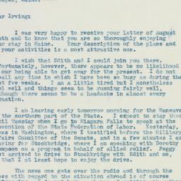 Letter: 1940 August 16