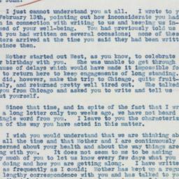 Letter : 1936 February 27