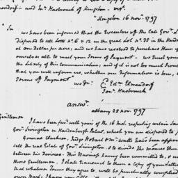 Document, 1797 November 25