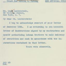 Letter : 1937 December 14