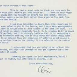 Letter : 1951 July 19