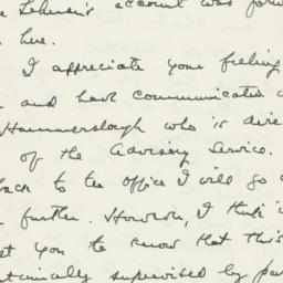 Letter : 1947 July 23