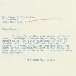 Letter: 1934 April 2
