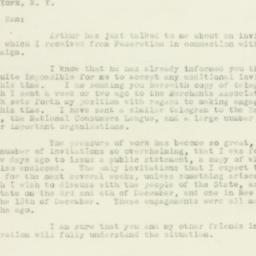 Letter : 1932 November 25
