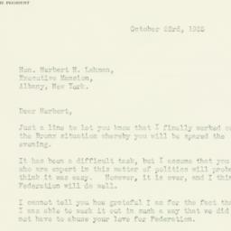 Letter : 1935 October 23