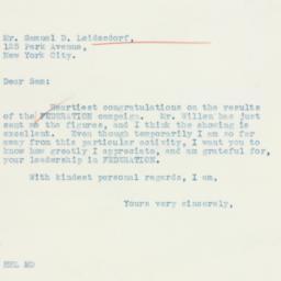 Letter: 1936 January 22