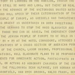 Letter : 1943 July 15