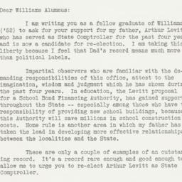 Letter : 1958 October 20
