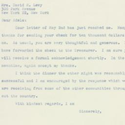Letter : 1947 May 5