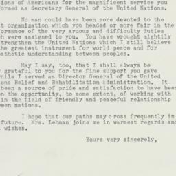 Invitation: 1953 April 14